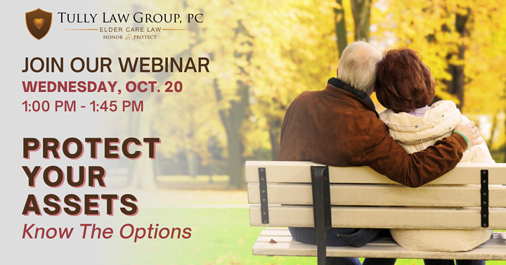 Free webinar to explain which asset protection strategy offers the most flexibility and greatest securitys to seniors and their families when long term care is needed.
