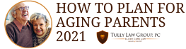 HOW TO PLAN FOR AGING PARENTS 2021 banner