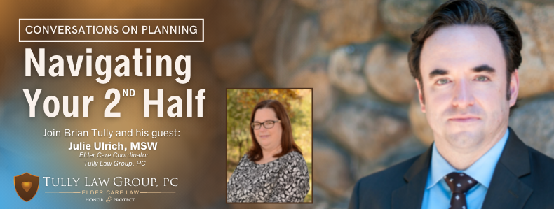 Free webinar with an elder law attorney and elder care coordinator discussing life care planning legal services