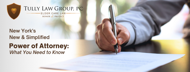 Free webinar on New York's updated, simplified Power of Attorney form
