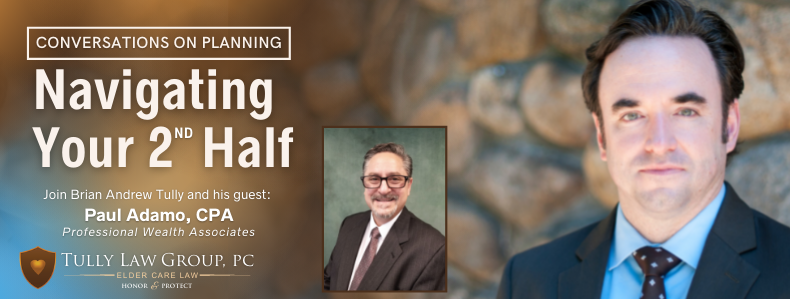 Watch our free webinar on the legal and financial strategies for planning your wealth to last throughout your retirement years.